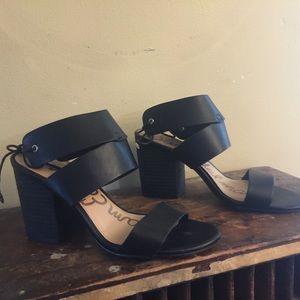 Sam Edelman Valerie chunky heel Sandals 7 1/2